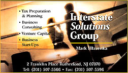 Interstate Solutions business card
